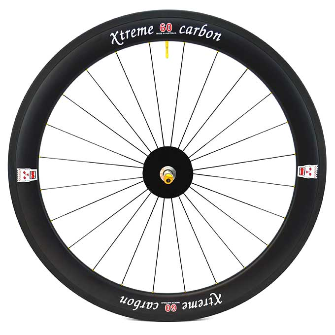 60 weapons grade carbon race wheel