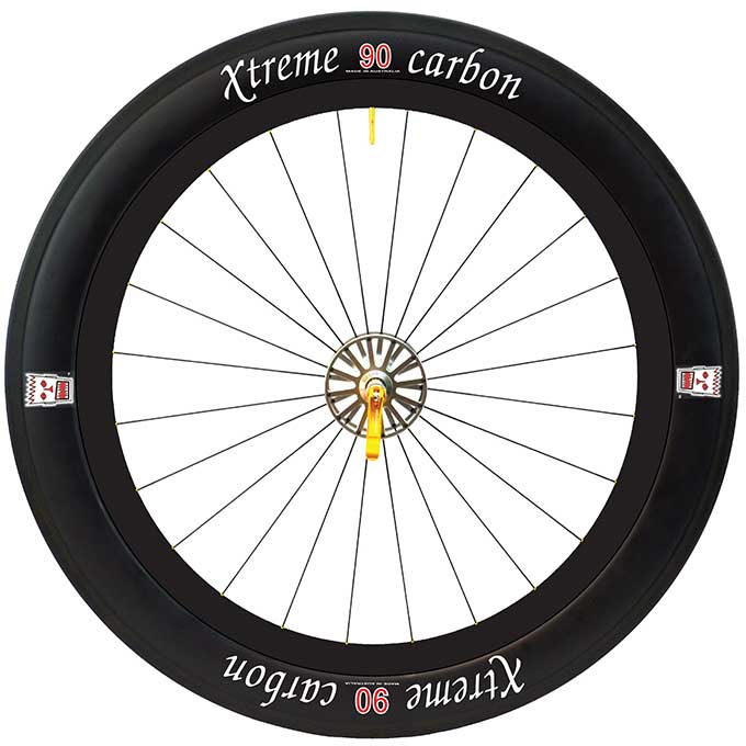 90 weapons grade carbon race wheel