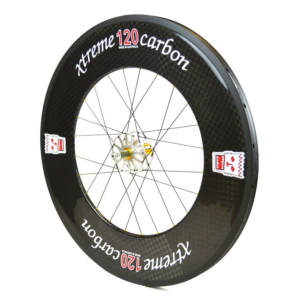 Carbon Triathlon Race Wheels Xtreme Carbon 120 Gauge