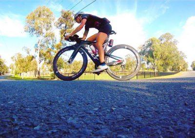 Em Donker Felt bike