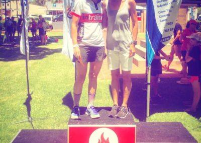 Emily Donker- Hell of the West podium finish