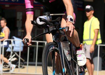 Michelle Gailey Bike turn IM Port Mac